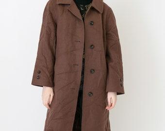 VINTAGE Brown Retro Coat