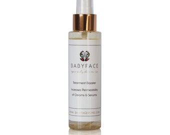 Babyface Treatment Booster Spray Toner & Skin Nourishment, Boost Serum Absorption, 4 oz.