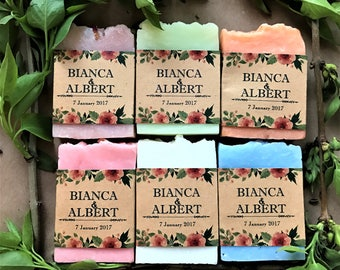 50 mini wedding favor soaps, soap, wedding soap, from my shower to yours,  soap favors, greenery wedding, wedding favors, shower favors