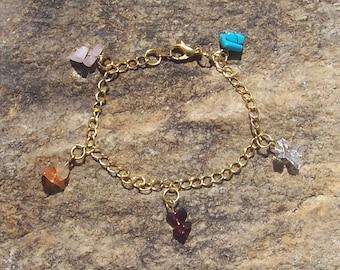 World of Warcraft Jewelry - Bracelet - Mining Jewelcrafting Gems - WoW - Genuine Gemstones