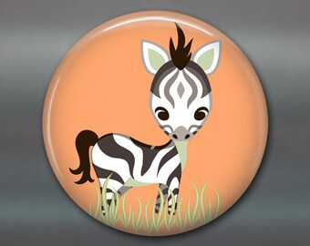 "3.5"" jungle animal magnets, cute fridge magnets, gift for kids, kids magnets, kitchen decor, stocking stuffer for kids gifts"