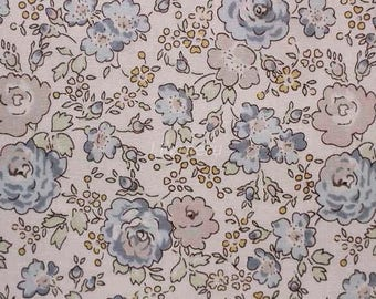 Liberty tana lawn printed in Japan - Felicite - Blue gray