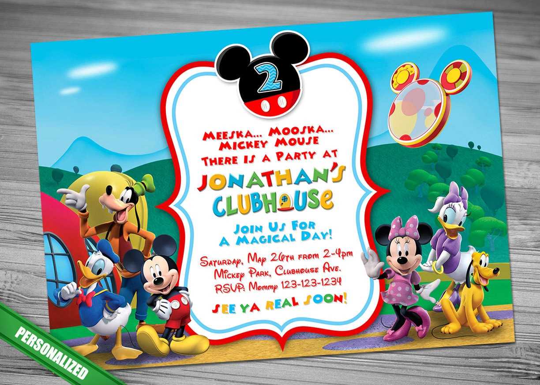 Perfecto Páginas De Color De Clubhouse De Mickey Mouse Elaboración ...