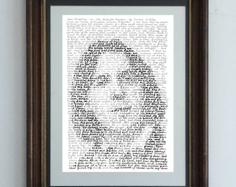 Oscar Wilde, In His Own Words -  a portrait if the witty Irishman from the lines of Sen Artistry, or the Artist's Dream