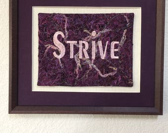 Strive, Word of the Year, Inspiration