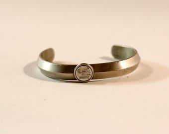 Minimalist Metal Scorpio Bangle Bracelet