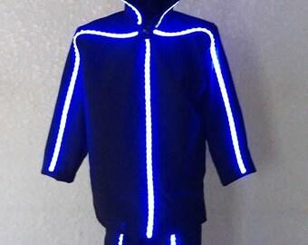Stilt Tron leds lighted Costume & Tron costume | Etsy
