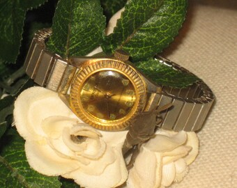 KRONOTON Vintage, Watch, Electra Watch, Gold Tone, **FREE SHIPPING** Lifetime Mainspring, Gentleman's Watch