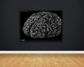 Brain Poster   Wall Art