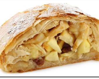 Traditional German Apple Strudel