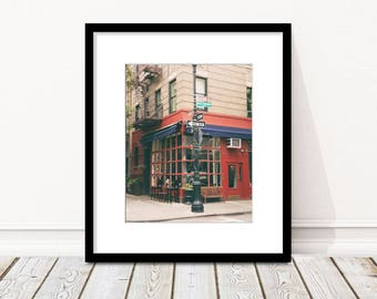 Friends Apartment, Little Owl, Greenwich Village, New York Photography, West Village, NYC Print, Restaurant, Kitchen Decor, Wall Art