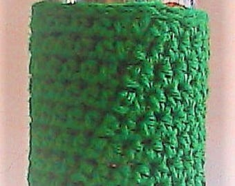 Soda Can, Water Bottle, Beer Can Cozy / Insulator - PADDY GREEN