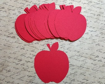 Die Cut Apples.  #E-47