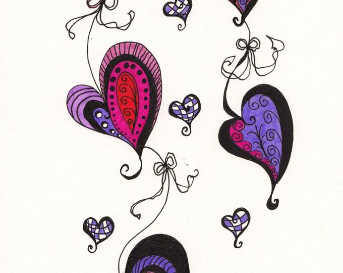 The Zen Hearts Cascade Cards