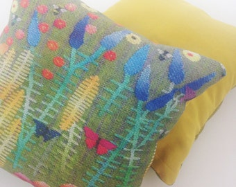 Prairie Goldenrod sachet cushion filled with fragrant lavender