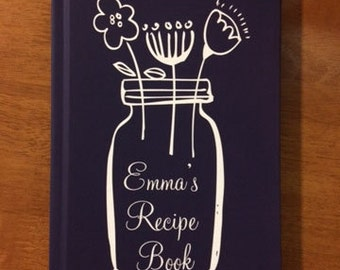 mom gift idea gift for mom personalized cookbook recipe journal