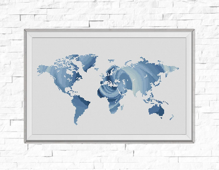 Bogo free map cross stitch pattern world map silhouette rose zoom gumiabroncs Image collections