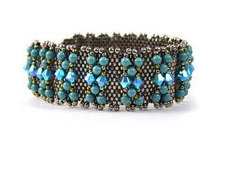 Sonia Bracelet Beading Pattern Great for Beginners