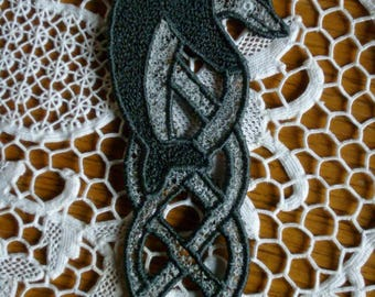 "Bookmark old lace ""Dolphin"""