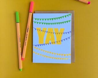 Celebration Letterpress Card