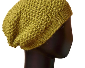 Womens Knit Hat Beret Hat Slouchy Beanie Womens Winter Hat Beret Knit Hat Womens Accessories
