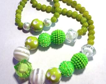 Tinker Bell Disney inspired Necklace & Bracelet