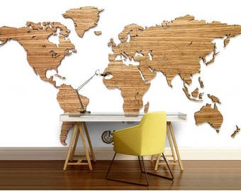 World map wallpaper etsy world map texture texture world map wallpaper world map education map decal gumiabroncs Image collections