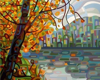Abstract Fine Art Print - Reflections