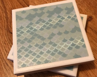 Ceramic Coasters - set of 4