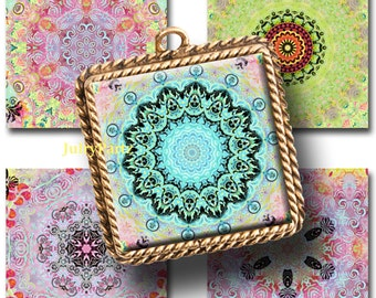 NEBULA 1x1 images, Printable Digital Images, Cards, Gift Tags, Stickers, Scrabble Tiles, Magnets