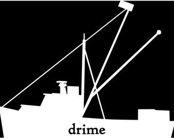 Drime trawler sticker