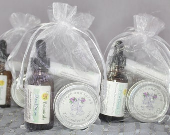 Wedding or Bridesmaid Favors. Custom candles and the finest skin care - our Dew Drops and Lip Balm.