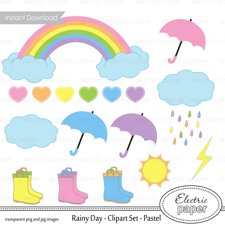 rainbow clipart rainy day clipart pastels pastel rainbow april showers clip art girls april showers clip art images free
