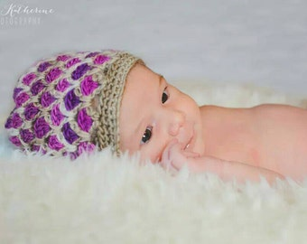 Baby hat, Newborn hat, toddler hat, Adult Hat // You choose size and colors// Girl baby shower gift