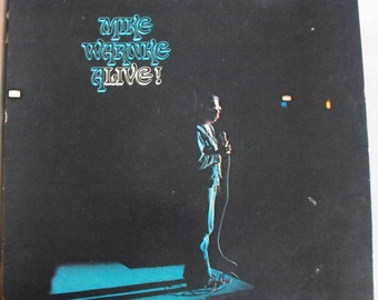 Mike Warnke, Alive, Vintage Record Album, Vinyl LP, Christian Comedian, Spoken Word Album, The Satan Seller, Evangelist, Religious Comedy