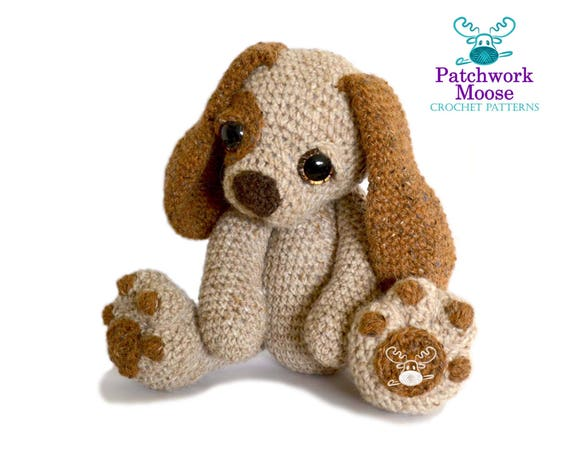 Amigurumi Dog Crochet Patterns : Puppy dog amigurumi crochet pattern pdf instant download