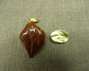 PENDANT leaf MOTIF - breciated