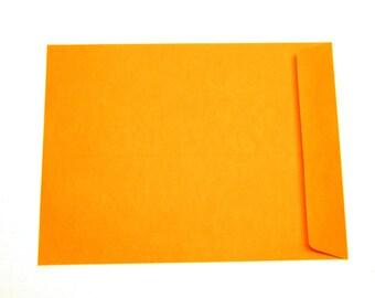 9 x 12 ORANGE envelopes (25 ct)