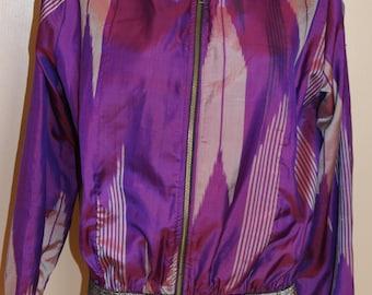 Kimono bomber jacket vintage reworked