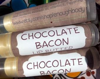 Chocolate Bacon Lip Butter ~ Lip Balm