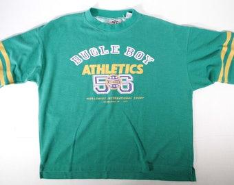 Vintage over sized Bugle Boy athletic shirt