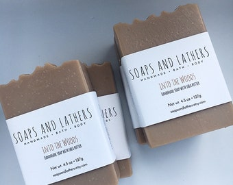 Into the Woods Redwood & Saffron Handmade Cold Process Soap