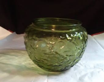 Green Planter/Bowl/Dish by E.O. Brody