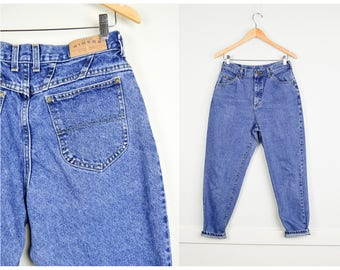 Vintage Lee Petite Mom Jeans 31, Vintage Clothing, 90s Clothing, 90s Jeans, High Waisted Jeans, Vintage Petite Clothing, Grunge Jeans Medium