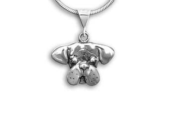 Sterling Silver Boxer Pendant