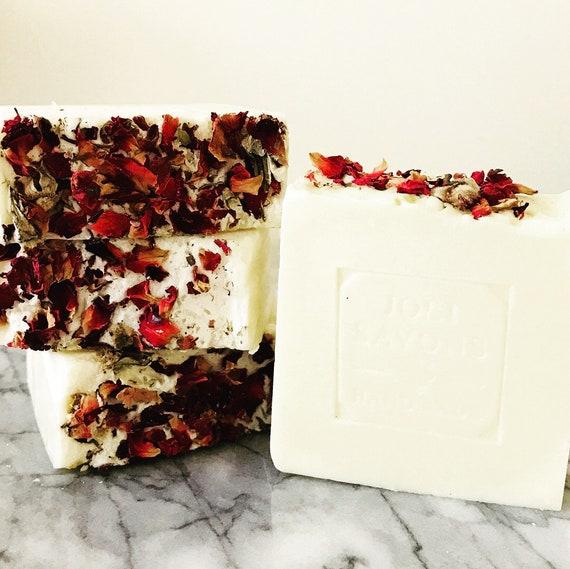Red Roses Soap (Vegan Castile)