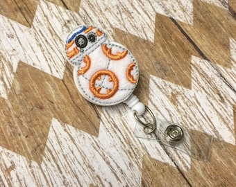 BB8 Badge Reel