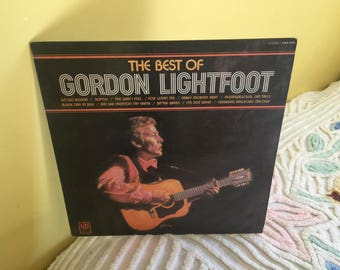 Best of Gordon Lightfoot Vinyl Record album NEAR MINT CONDITION