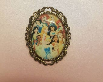 Princess brooch
