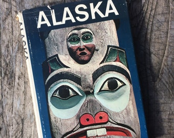 Vintage National Geographic Society Alaska Book